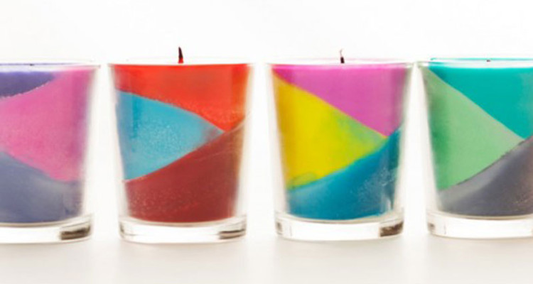 Use Old Crayons To Make Candles.